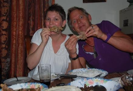 Äta med händerna Kenya