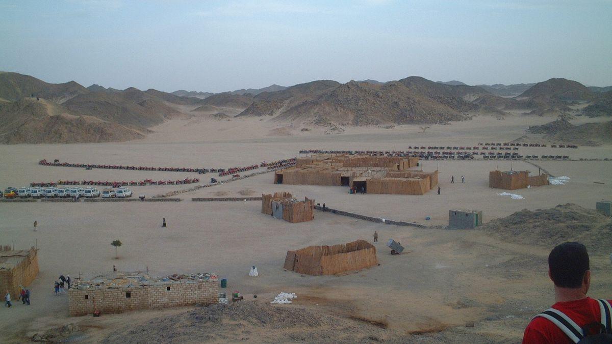 Öken Egypten