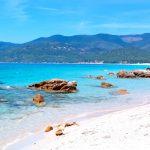 Paradisstrand på Korsika