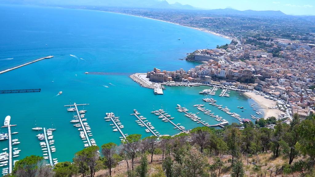 Italien, Sicilien, Castellammare del Golfo