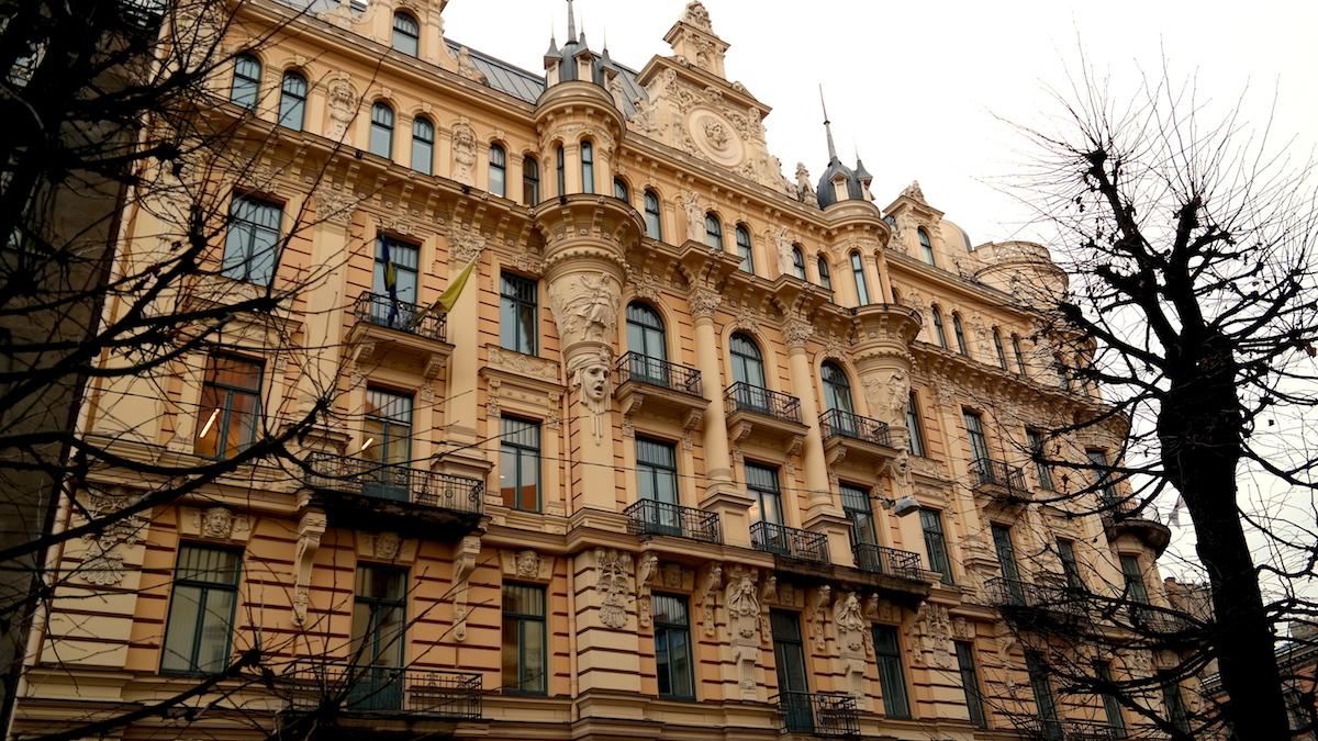Jugendhusen i Riga, Lettland