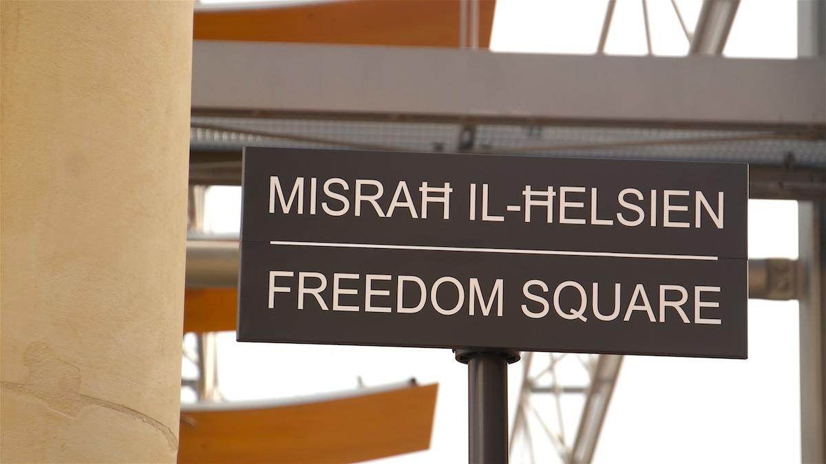 Freedom Square Malta