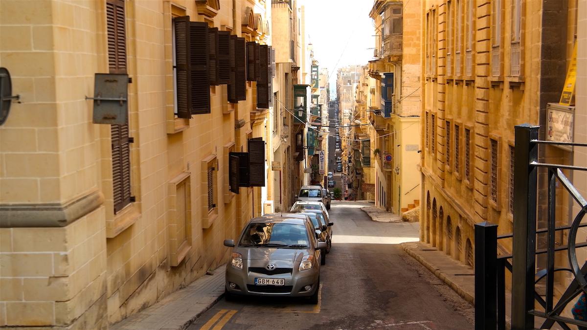 Gator i Valletta