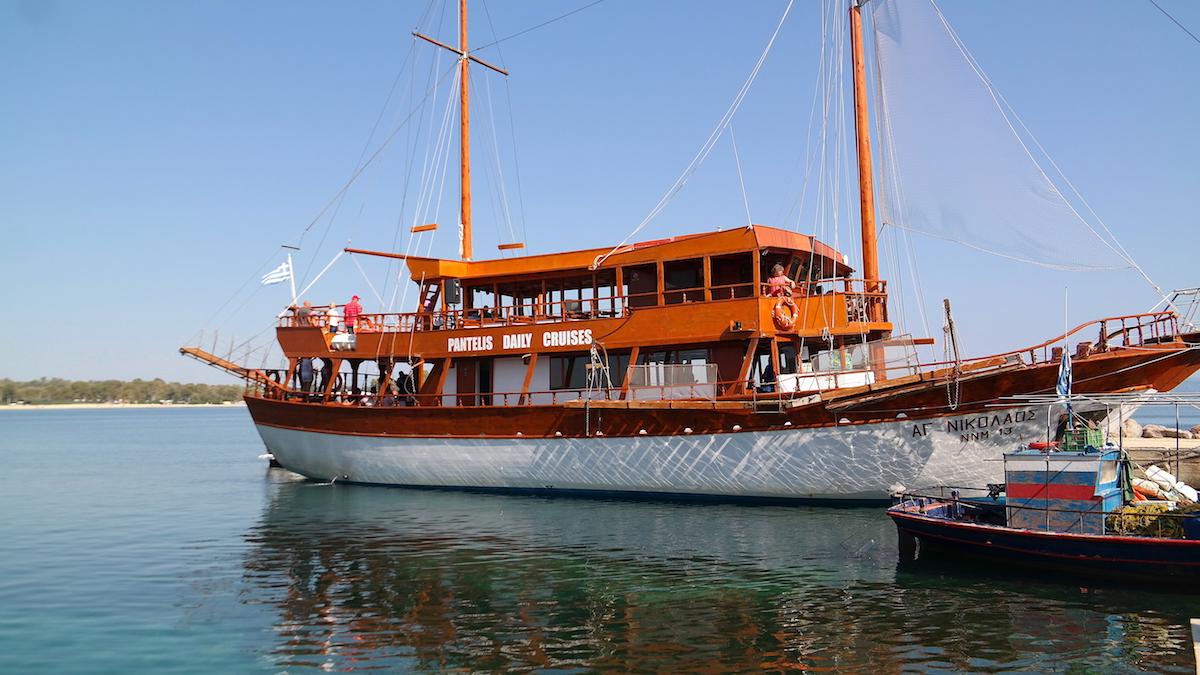Båten i Kassandra
