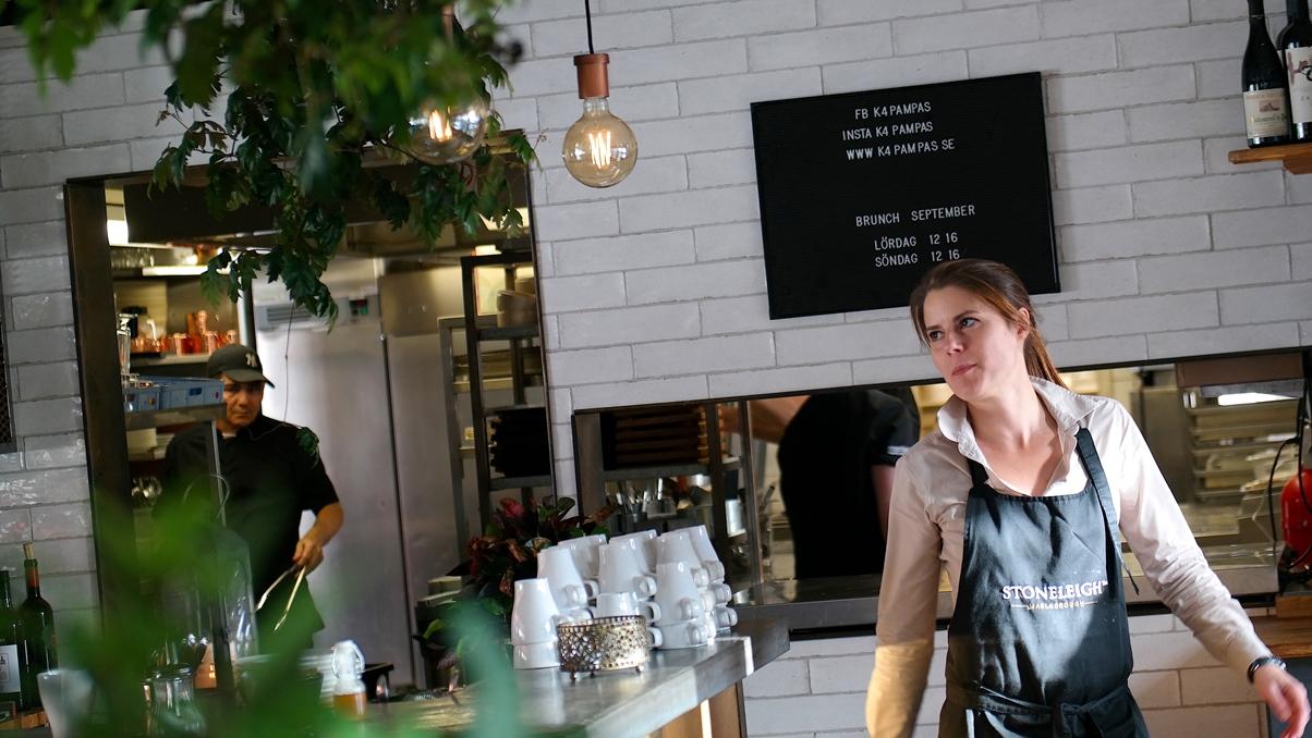 Katharina är restaurangchef