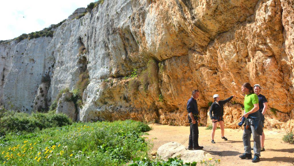 Abseiling Malta