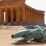 Antika tempel i Agrigento, Sicilien