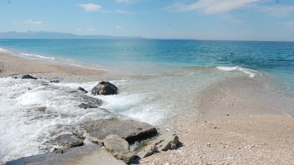 Albanien Bunec beach