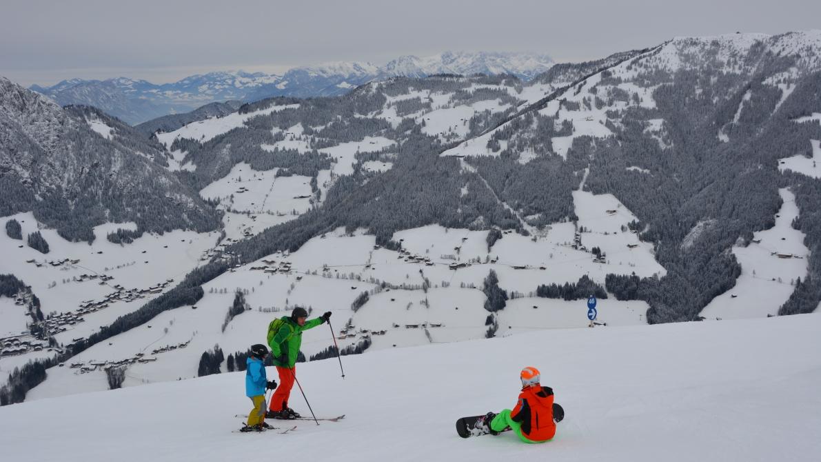 Alpbachtal i Österike