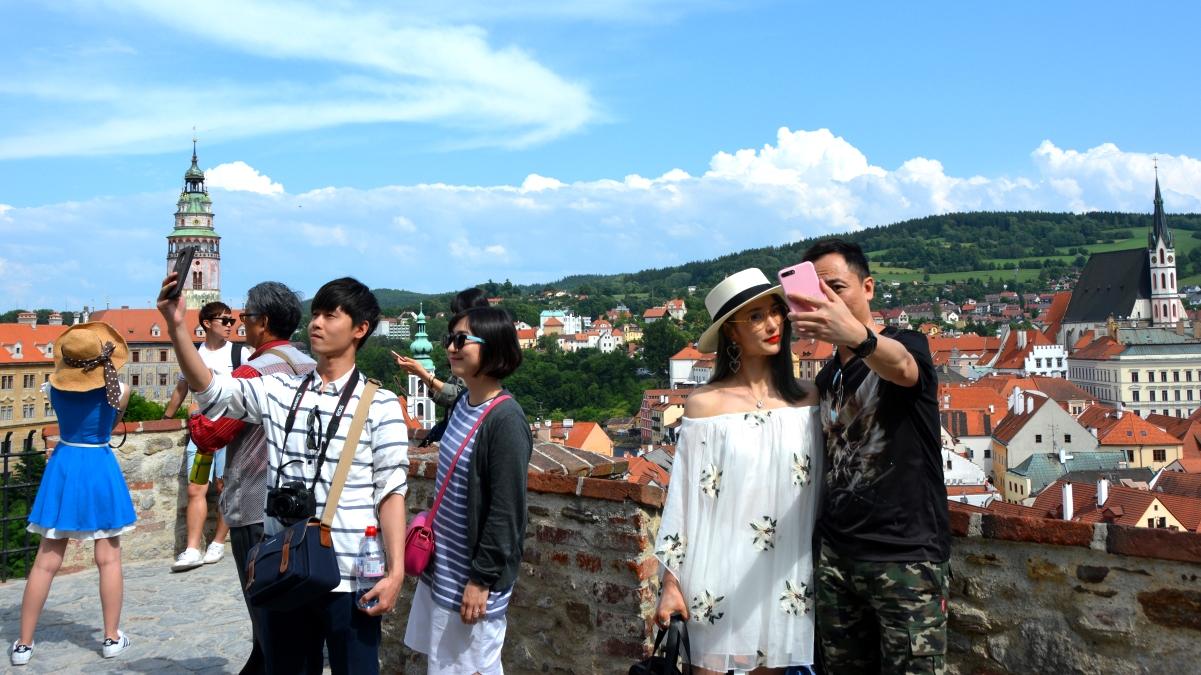 Asiatiska turister