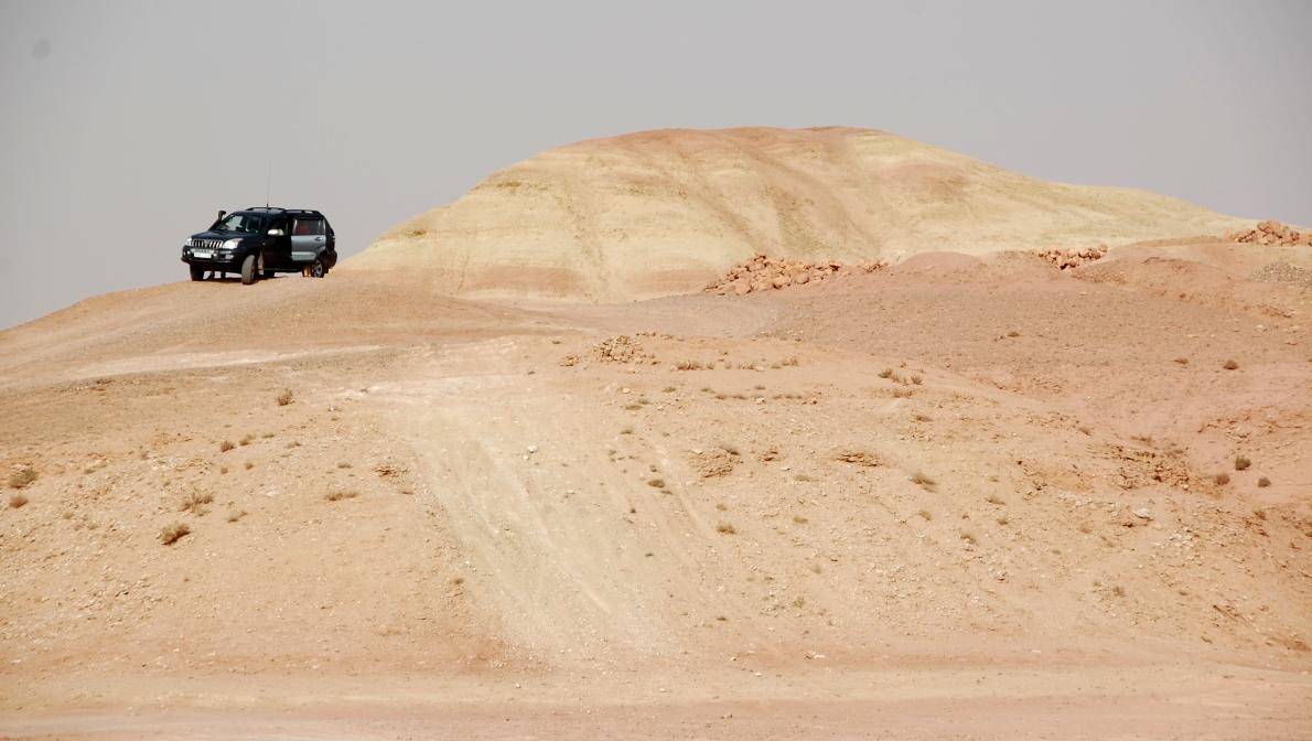 Atlasbergen i Marocko