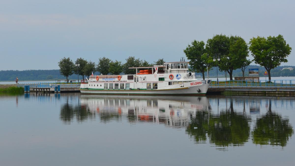 Båt Polen