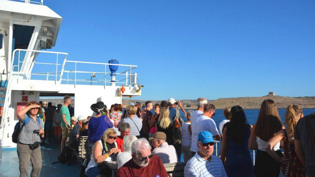 Färjan från Malta till Gozo
