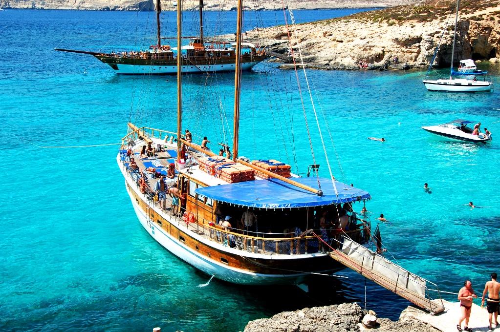 Restips för Malta: Båttur till Comino och Gozo