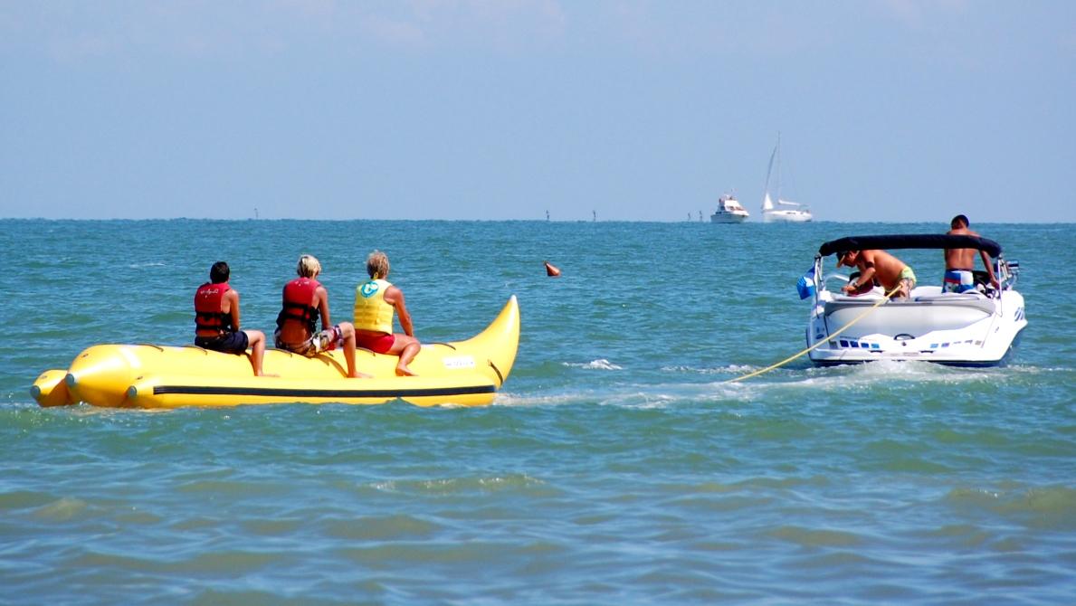 Bananbåt Italien