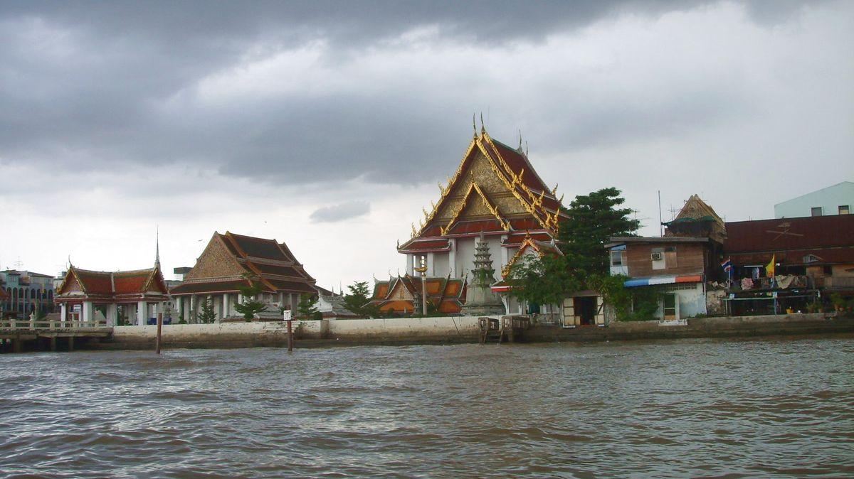 Bangkok flodtur