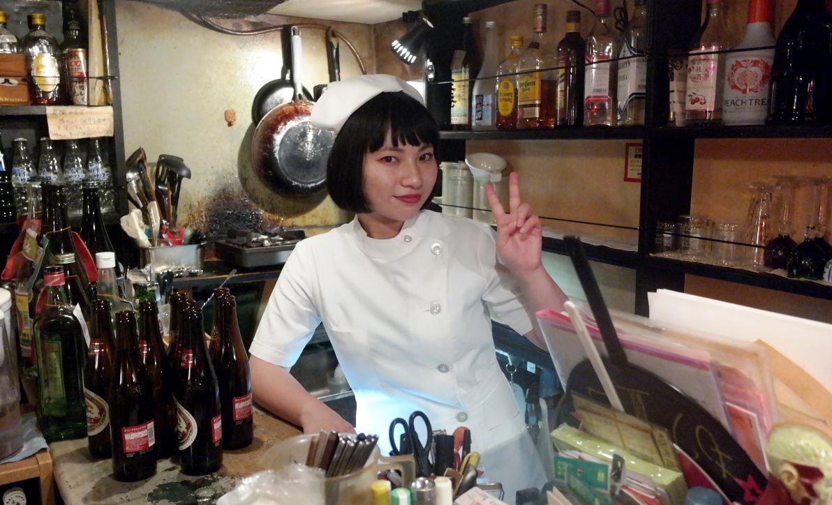 Bar med sjukhustema i Tokyo