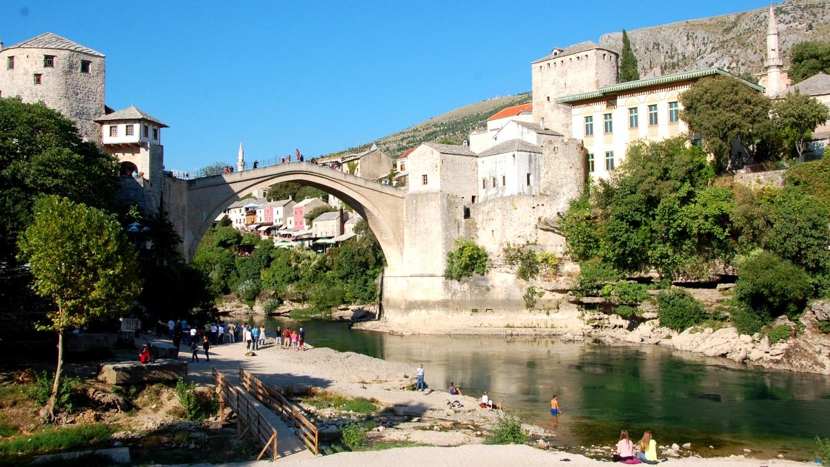 Restips för Bosnien: Bron i Mostar