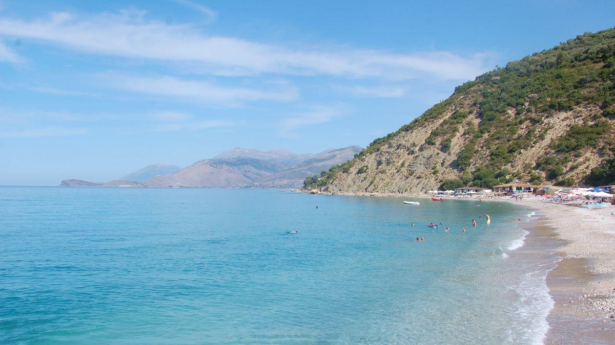 Bunec beach