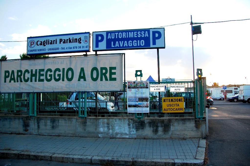 Ställplatser på Sardinen: Cagliari