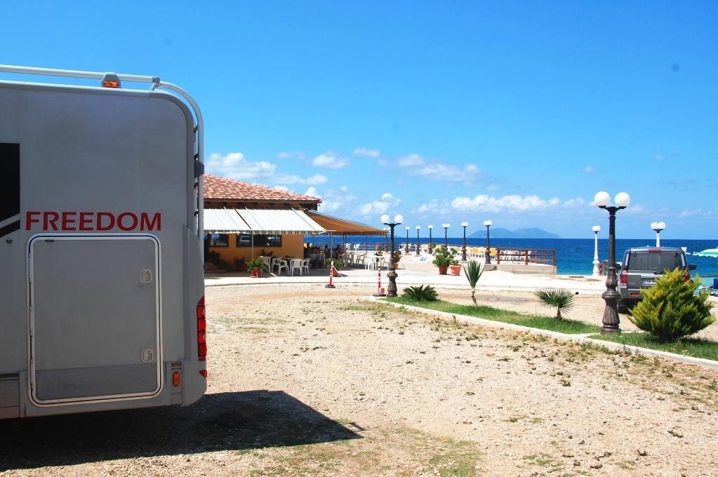 Ställplatser i Albanien: CamperStop Cekodhima