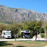 Camping i Kotorbukten