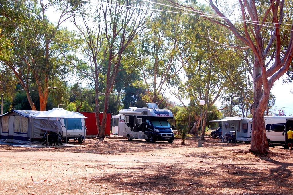 Ställplatser i Grekland: Camping Igoumenitsa