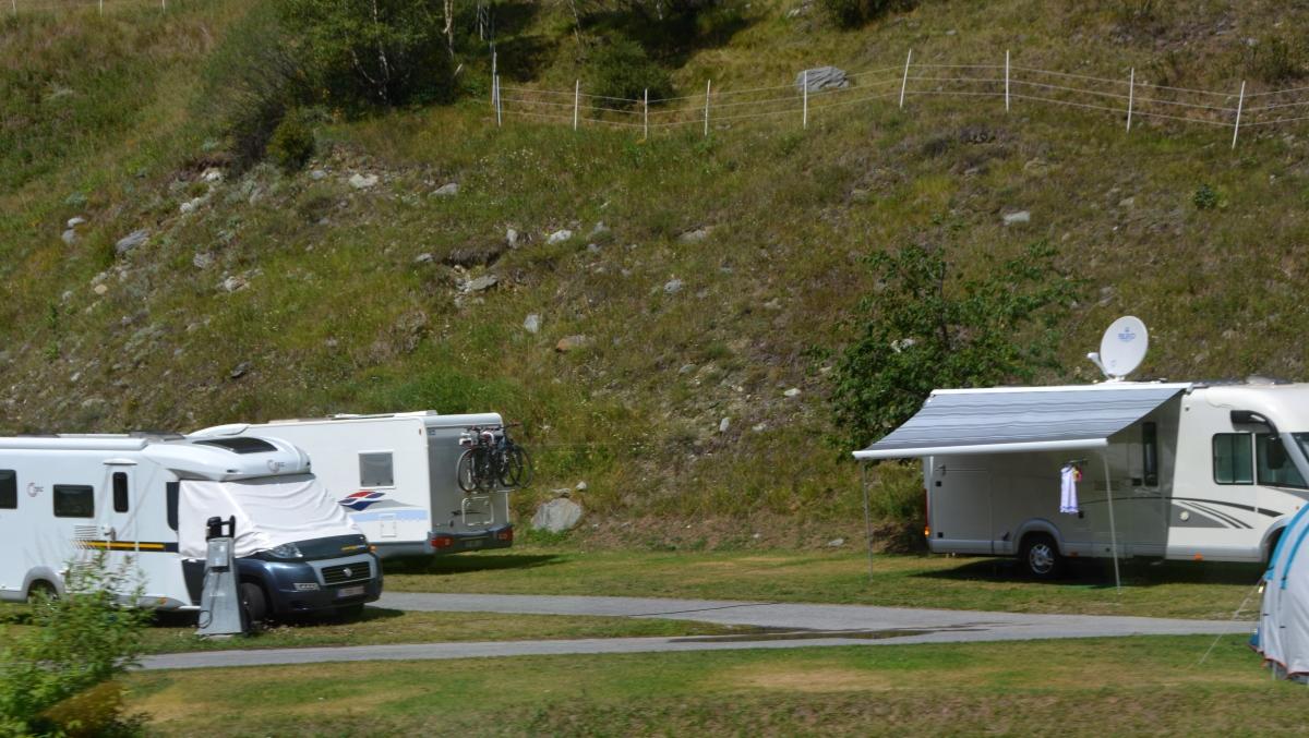 Sommar i Zermatt - camping