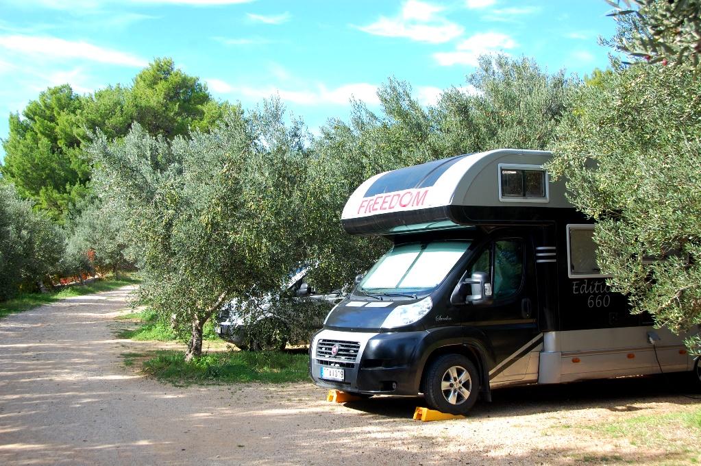 Camping på Brac