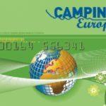 Nytt campingkort i Europa