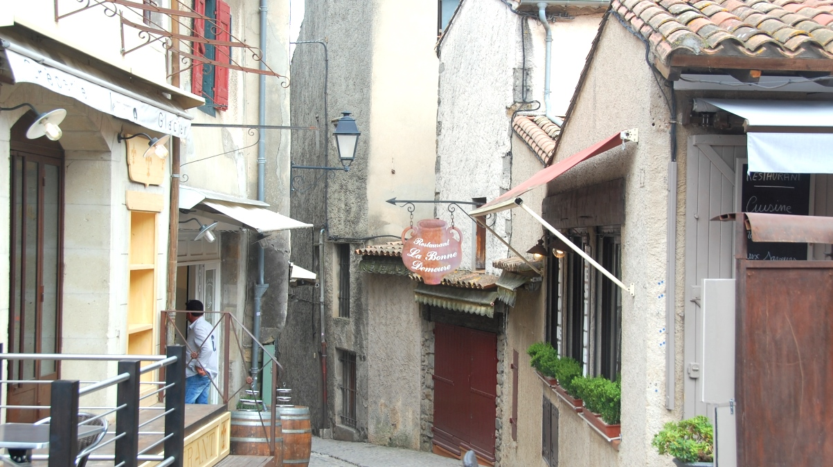 Carcassonne gränder