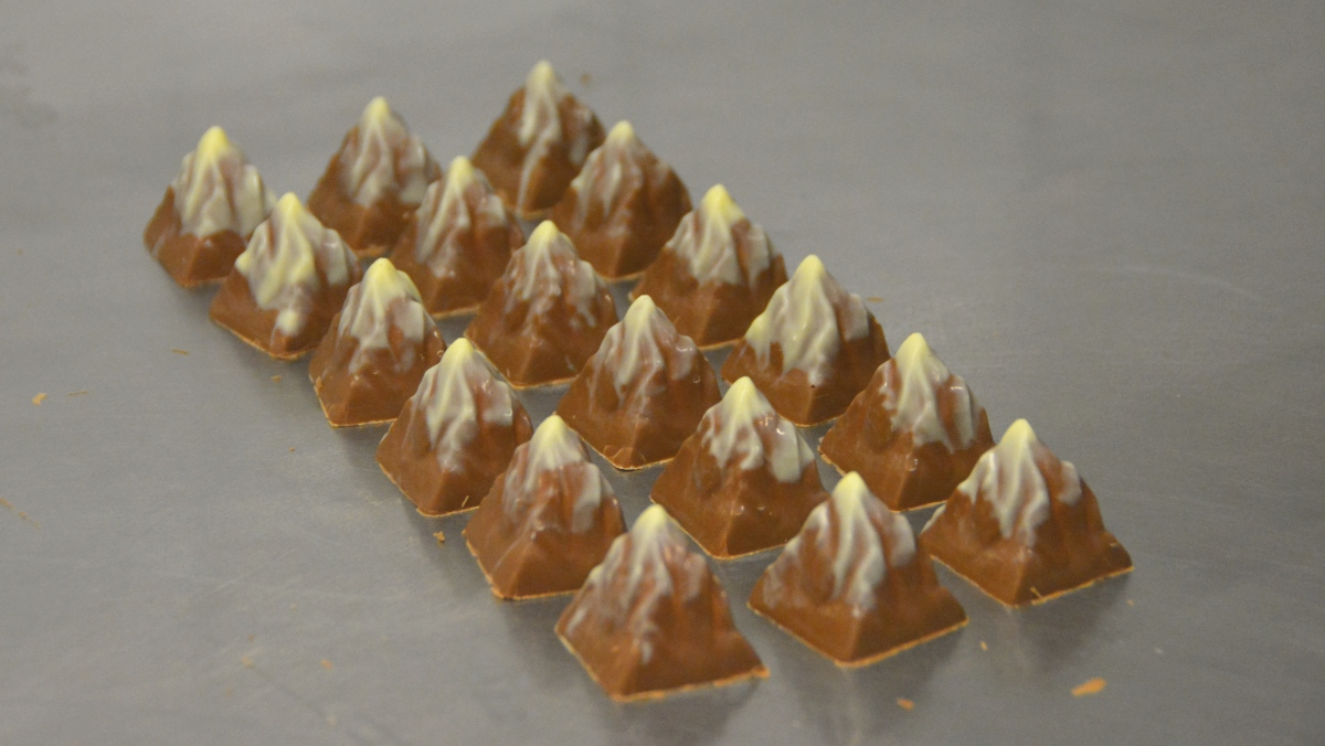Choklad Matterhorn