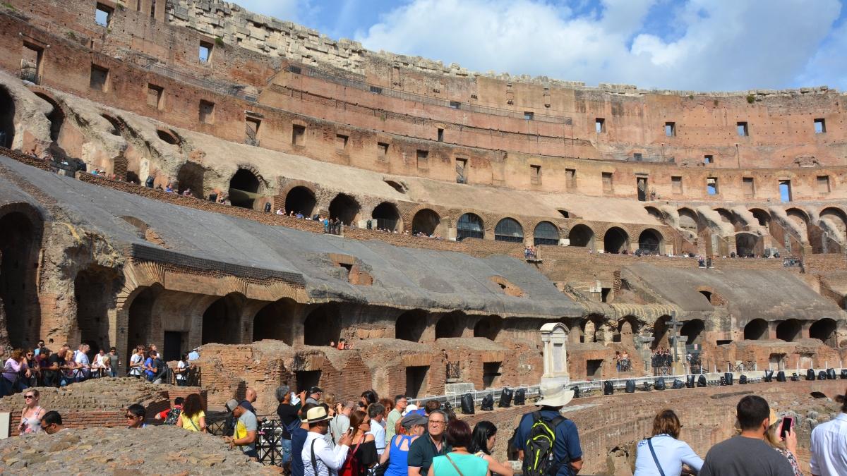 Colosseum invändigt