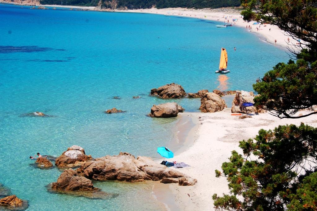 Plage du Cupabia - ett fint restips för Korsika