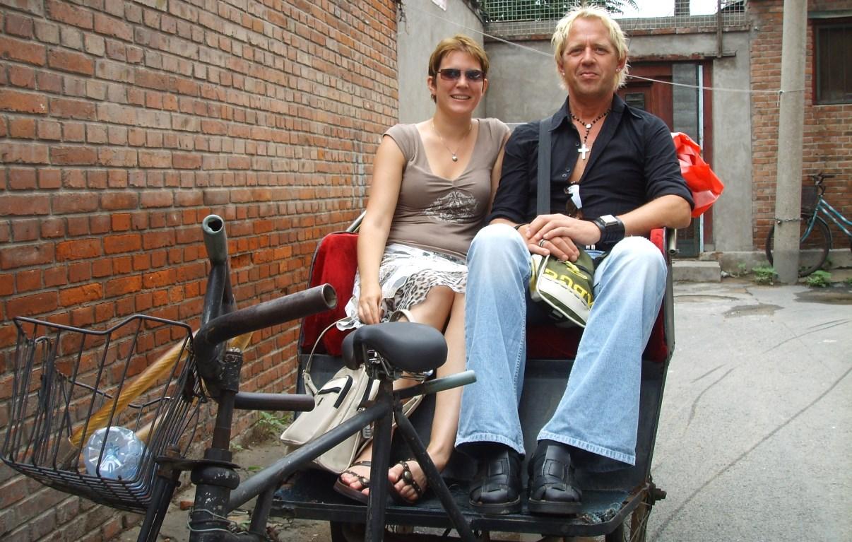 Cykeltaxi Kina