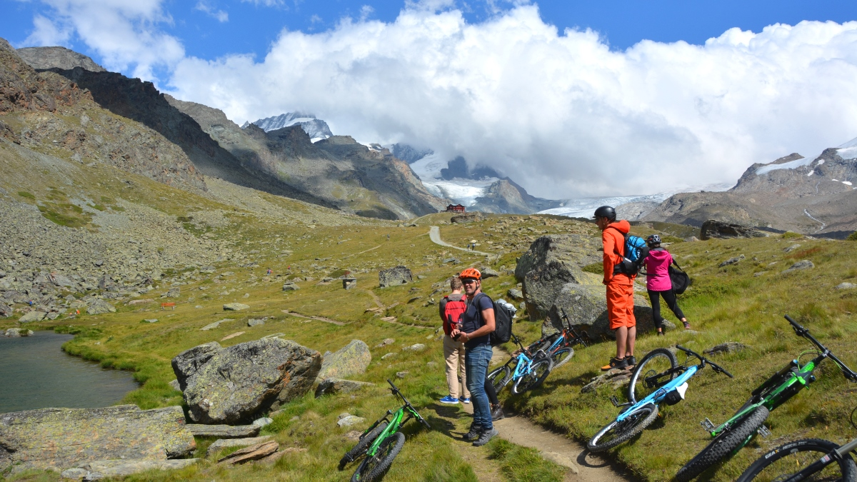 Mountainbike i Zermatt