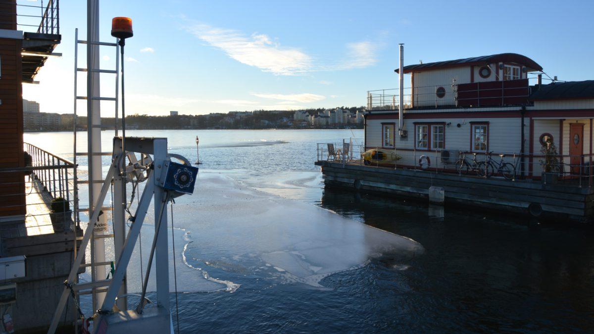 Is på Ulvsundasjön