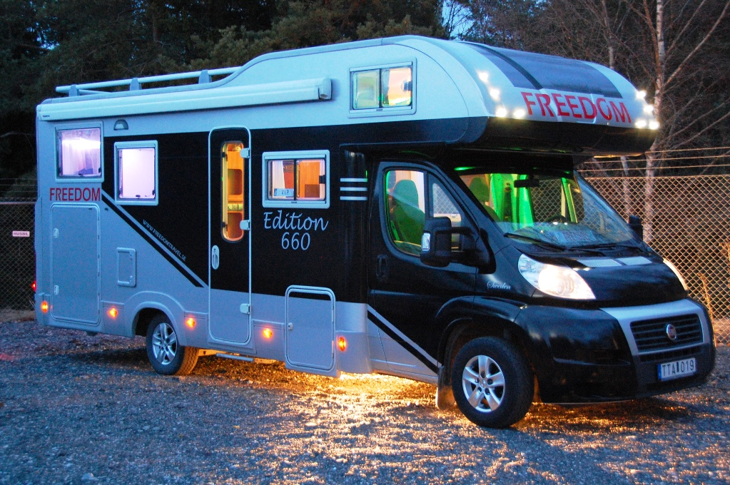 Husbilen FREEDOM - med ny design
