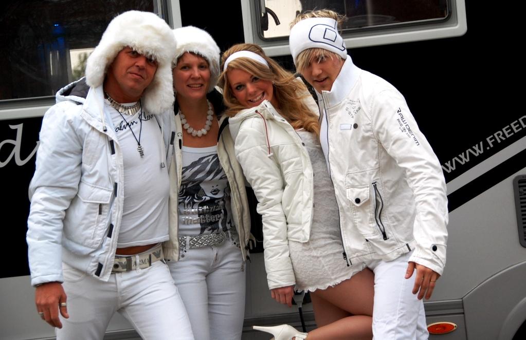 Laddade inför Sensation White i Köpenhamn