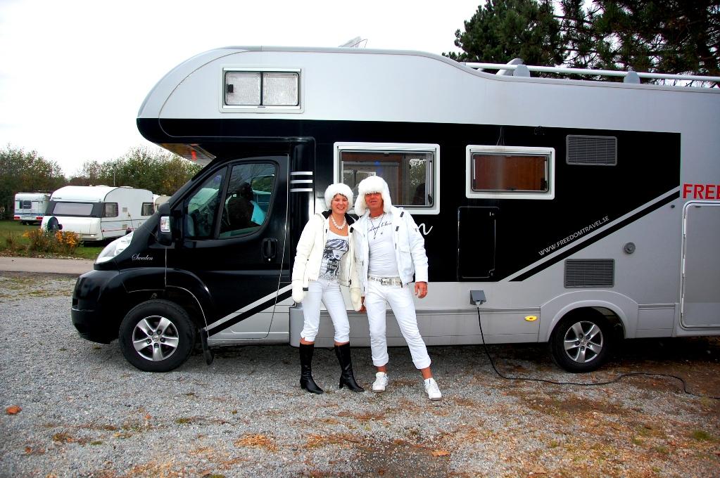 Ställplatser i Danmark: Camping Absalon i Köpenhamn