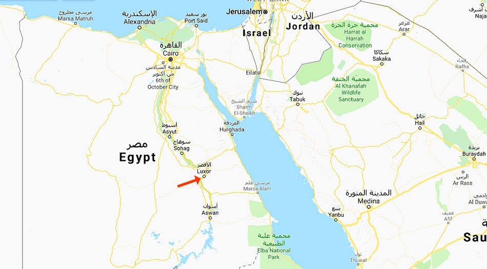 Egypten, Luxor