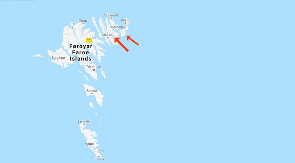 Färöarna, Bordoy, Svinoy