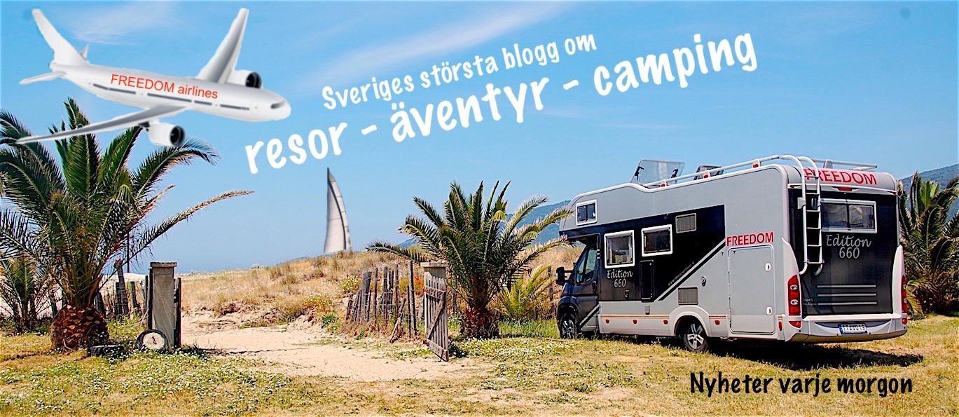 FREEDOMtravel är Sveriges största blogg om resor, äventyr och camping. En reseblogg, en husbilsblogg, en campingblogg och en blogg om livet i en husbåt.