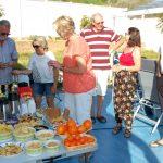 Fest på ställplatsen i Albufeira