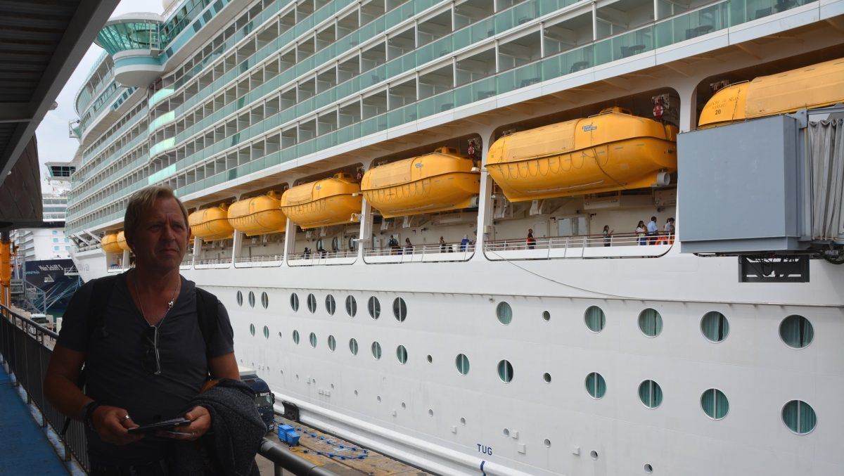 Ombord på Freedom of the seas