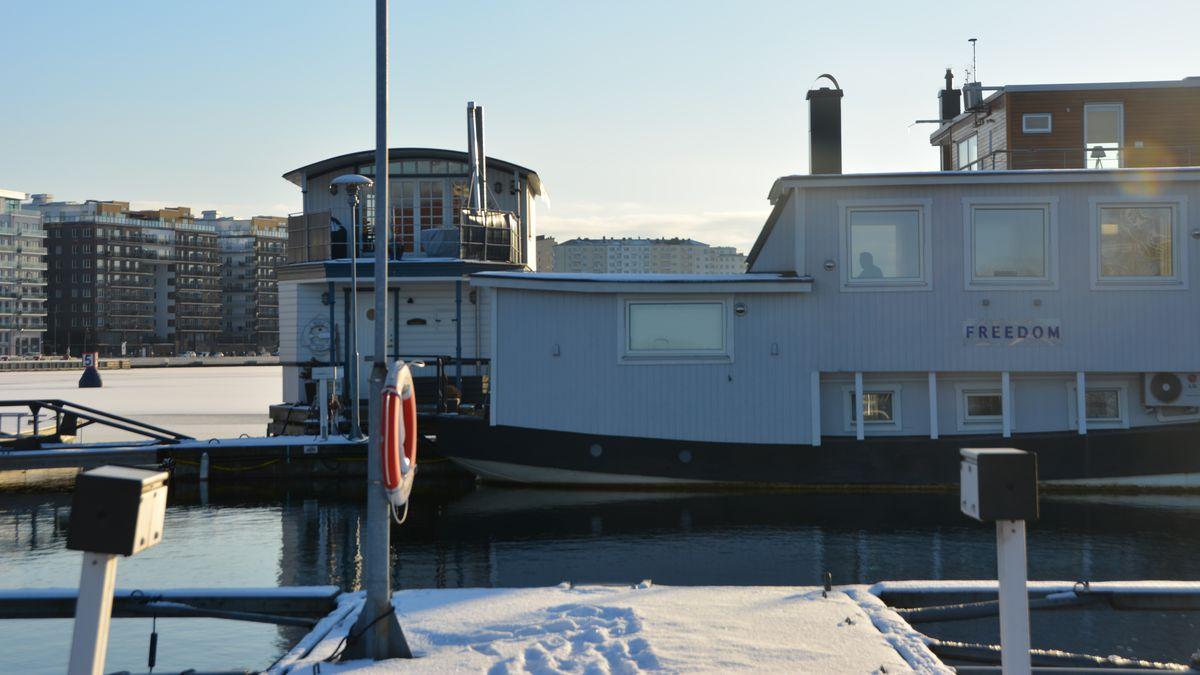 Freedom husbåt