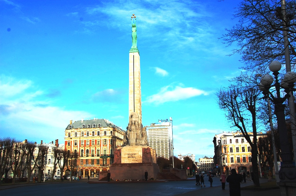 Freedom monumenti Riga