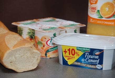 Frukost Frankrike