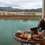 En dag i La Spezia, Italien