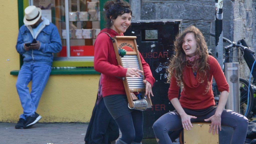 gatumusikanter i Galway